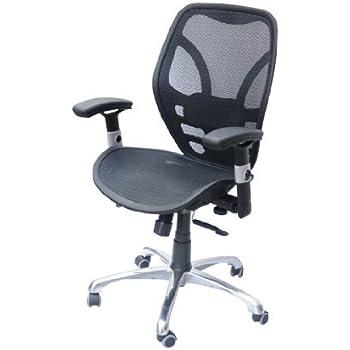 Beau HOMCOM Black Deluxe Mesh Ergonomic Office Desk Computer Task Chair