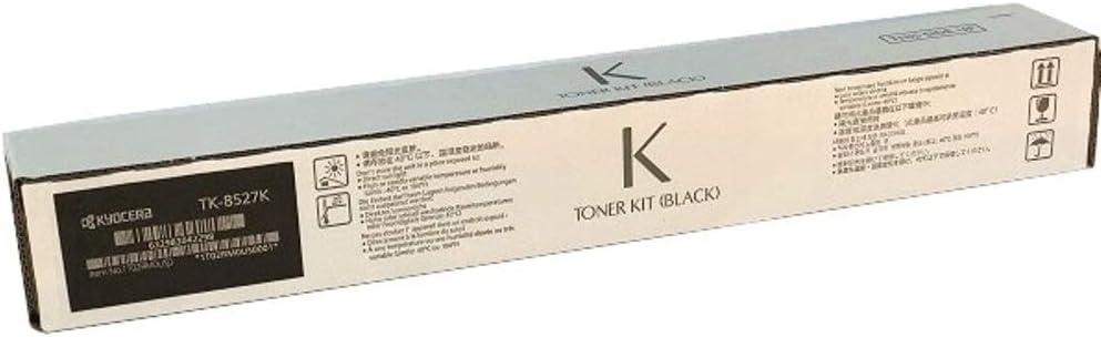 CS-4052ci TASKalfa 3552ci and 4052ci Color Multifunctional Printers Kyocera 1T02RM0US0 Model TK-8527K Black Toner Cartridge For use with Kyocera//Copystar CS-3552ci