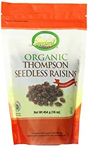Everland Organic Thompson Seedless Raisins, 454gm