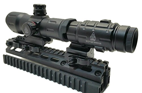 Leapers 3 x Magnifier and T-Dot Scope Combo