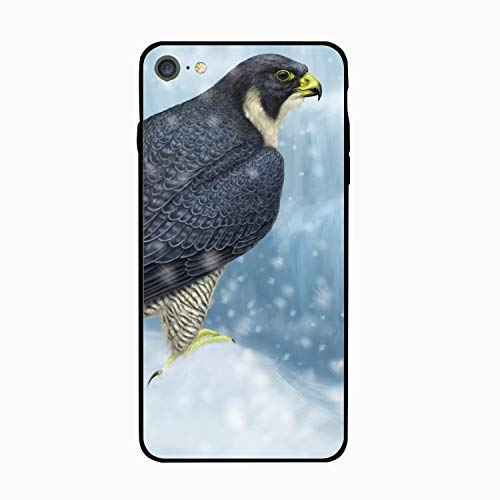 Falcon Bird iPhone 6S Case/iPhone 6 Case Rubber Shockproof Cover Compatible with iPhone 6 / 6S -
