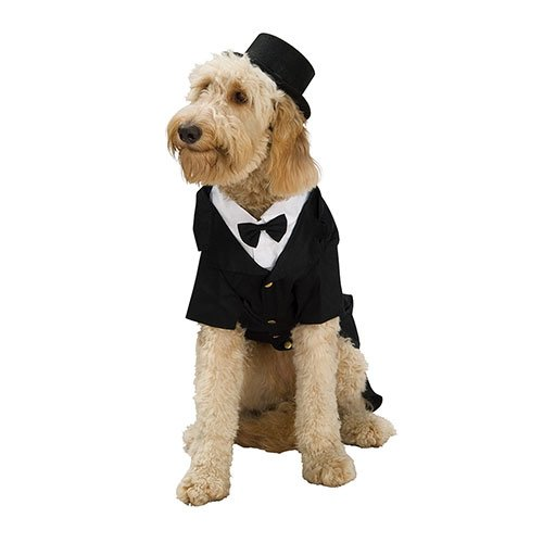 [Rubie's Dapper Dog Pet Costume, X-Large] (Tights Costumes Accessory)