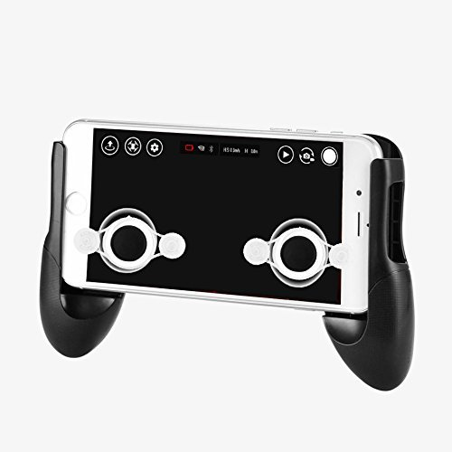 DJI/Ryze Tech Tello Accesssories Gamepad Hand Grip Clip Phone Game Control Mount Bracket Holder Handle + Joystick - Suitable for all 4.5-6.5 inches smartphone game (iPhone X/8/8/7/6 Plus, Samsung)