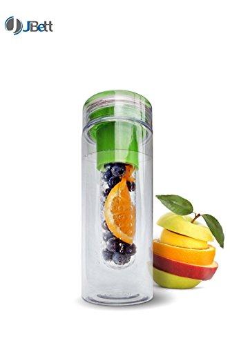 [Lifetime Warranty] JBett Infuser Water Bottle 28oz. For Fruit/Tea - Made with...