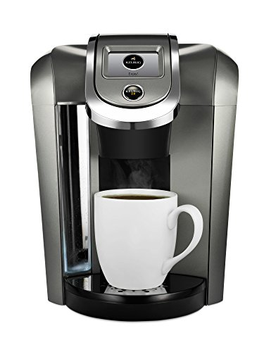 Keurig K500 Coffee Maker Single Serve 2.0 Brewing System with Top Needle Cleaning Maintenance Accessory and My K-Cup Reusable Coffee Filter, (Platinum Iced Tea)