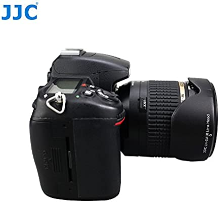 JJC Reversible Lens Hood Shade Protector for Tamron 18-250mm f//3.5-6.3 Di-II LD Lens Replaces Tamron DA18 /& Tamron 18-270mm f//3.5-6.3 Di-II VC PZD Lens Model B008 Model A18