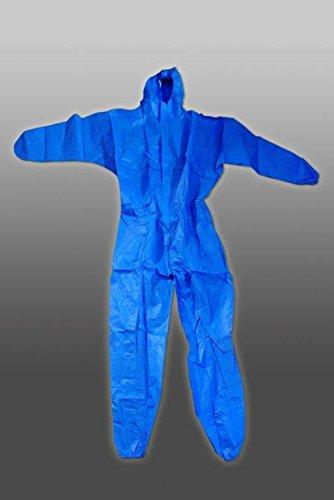 Batas desechables awotex azul, (50er manada) XXL