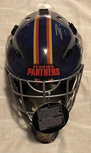 - Roberto Luongo Autographed Signed Auto Full Size Goalie Helmet Mask Florida Panthers Memorabilia PSA/DNA