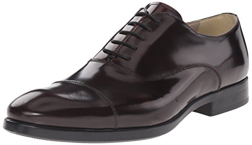Kenneth Cole REACTION Mens Whip-Lash Oxford Bordo
