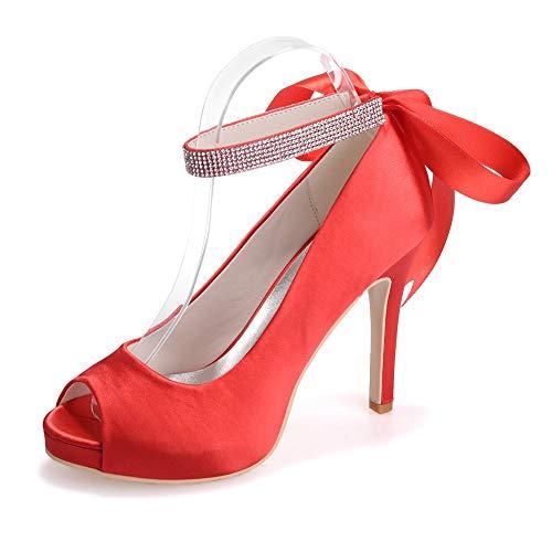 con donna Scarpe Zxstz e tacco da eleganti rosso da donna scarpe eleganti alto Pq6xd6wZI