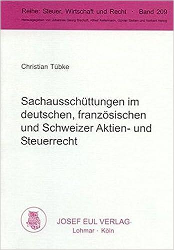 Sachausschuttungen Im Deutschen Franzosischen Und Schweizer Aktien