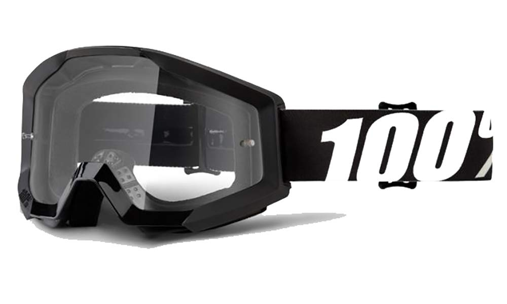 100% Strata OUTLAW Goggle With Clear Lens by 100%