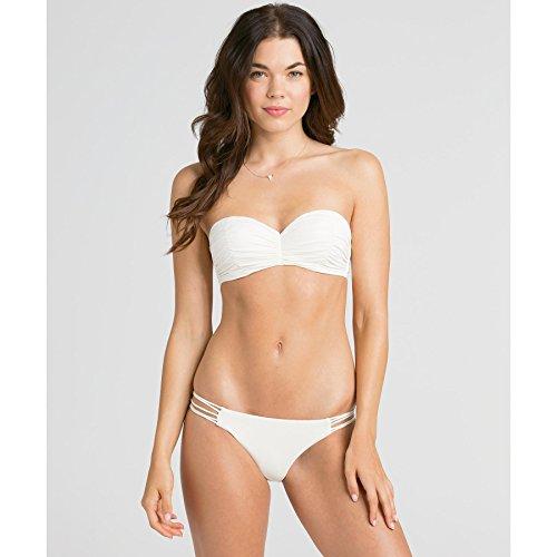 Billabong Women's Sol Searcher Bustier Bikini Top, Seashell, Medium