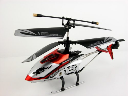 "JXD 4 Ch Indoor Infrared RC Gyroscope Helicopter ""Drift King"" – Colors May Vary"