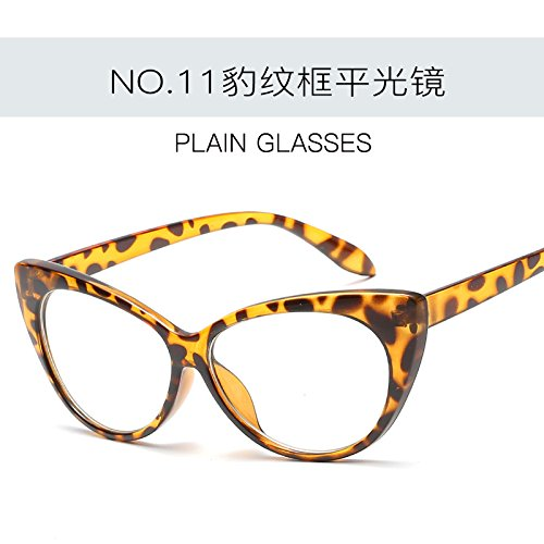 C11 Gato gafas mujer UV400 femenina Gafas ZHANGYUSEN Retro C4 sexy Ojo Tonos sol de gafas de moda de Vintage de 11XHzwq