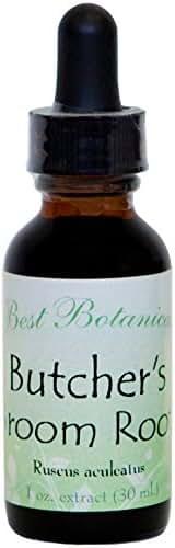 Best Botanicals Butcher's Broom Root Extract — Circulation — 1 oz
