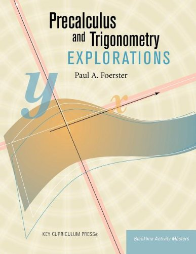 Download Precalculus and Trigonometry Explorations (Blackline Activity Masters) pdf