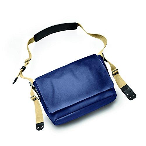 Brooks Barbican Shoulder Bag Canvas dark blue / black 2017 Tasche tluB9