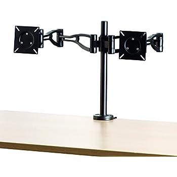 Amazon Com Fellowes Adjustable Dual Monitor Arm 8041701