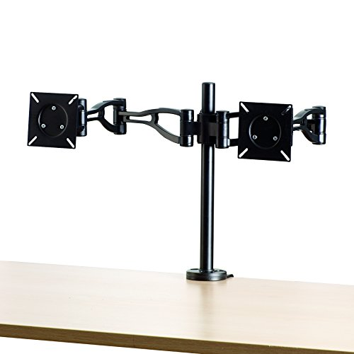 Fellowes Adjustable Dual Monitor Arm (8041701) by Fellowes