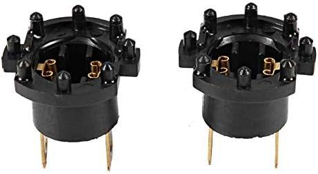 Hlyjoon 1 Paar Ersatzscheinwerfer Lampenfassung Adapter Halter Fit für 3 5 323 B28V510A3 Scheinwerfer Fassung Halter
