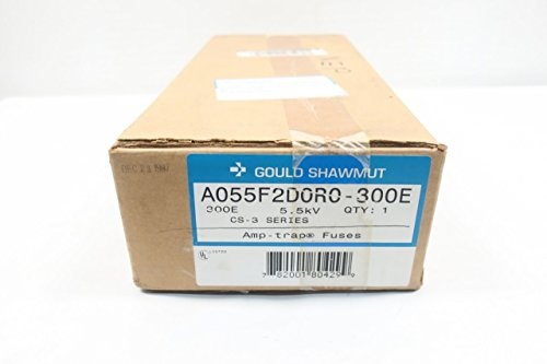 New GOULD SHAWMUT A055F2D0R0-300E AMP-Trap Fuse 300E 5.5KV-AC D612079