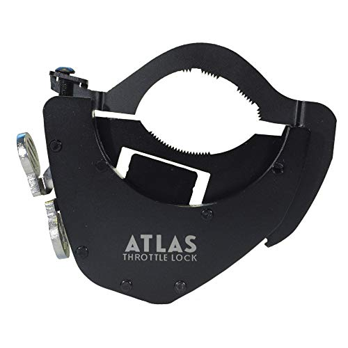 Cruise Control Unit - ATLAS Throttle Lock A Motorcycle Cruise Control Throttle Assist, BOTTOM KIT