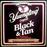 Yuengling Brewery - Original Black & Tan - Metal Beer Tacker Sign by beercollections
