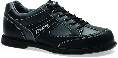 Dexter Men's Pro Am II Bowling Shoes Left Handed, Black/Gray, (Left Hand Bowling Shoes)