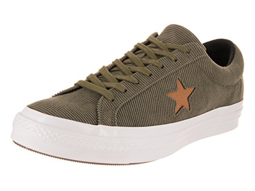 (Converse Unisex One Star Ox Medium Olive/Burnt Caramel Casual Shoe 7 Men US / 9 Women)