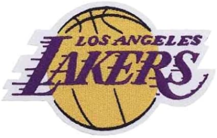 Aufnäher NBA Basketball Team Losangeles Lakers Logo patch Bügelbild iron on