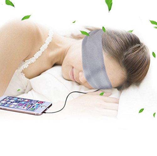 Bestwishes2u Sound Sleep Headphone Unique Sleep Goggles Headphones, Supporting All Mobile Phone MP3 MP4 Computers