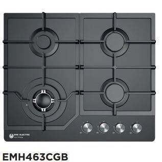 EAS Electronics Encimera Gas, 4 Fuegos, Parrillas de Hierro ...