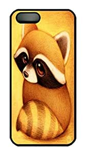Custom Durable Black PC Back Protection Case Cover For iPhone 6 plus 6 plus Hard Shell Skin For iPhone 6 plus 6 plus With Big Eyes Fox