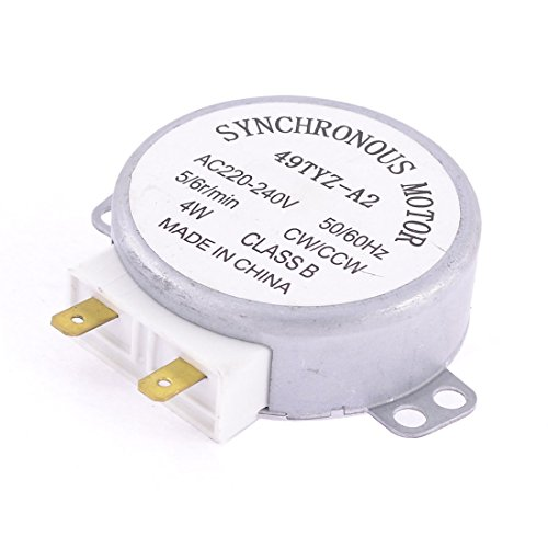 TOOGOO Microwave Oven Turntable Synchronous Motor CW/CCW 4W