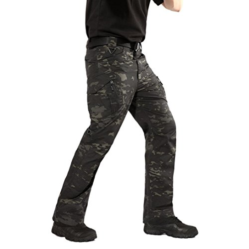PASATO New!Men's Casual Tactical Military Army Combat Outdoors Work Trousers Cargo Pants(Camouflage, S) by PASATO (Image #2)