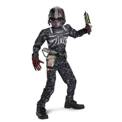 Of Time Costumes Top Ten All Halloween (Recon Commando Classic Muscle Costume - Large)