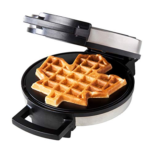 BCOWW Canadian Maple Leaf Waffle Maker