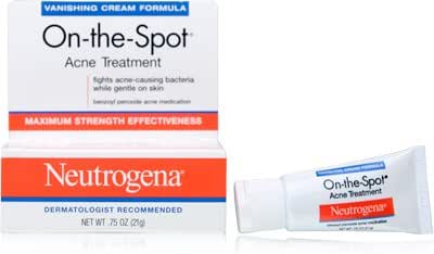 Neutrogena OntheSpot Acne Treatment, Vanishing Formula, 0.75 Ounce