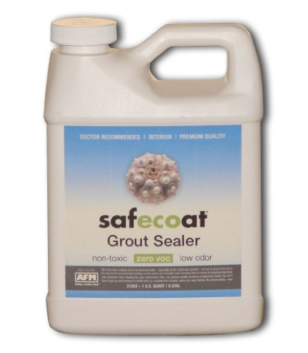 Afm Safecoat Grout Sealer, White 32 Oz. Can 1/Case