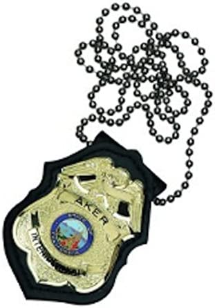 NEW Safariland 7350-03-2 Shield Style Badge Holder Black Plain