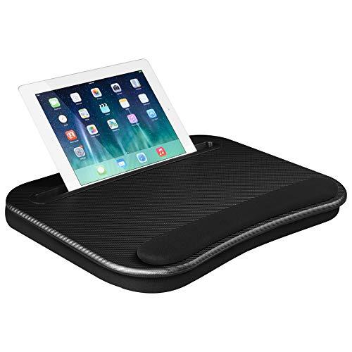 (LapGear Smart-e Lap Desk - Black Carbon (Fits up to 12.9