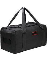 Oversized Canvas Travel Duffel Bag Outdoor Sports Duffels Weekend Bag 9857d04c27766