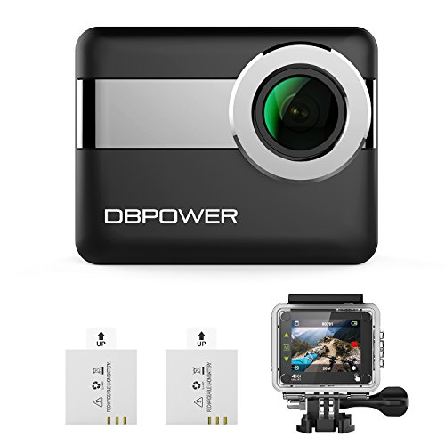 """DBPOWER N6 4K WiFi Action Camera, 2.31"""" LCD Touchscreen 20MP"""