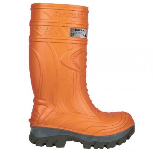 Cofra Thermic S5HRO ci SRC scarpe di sicurezza Taglia 39arancione