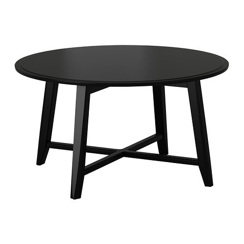 IKEA Coffee table, black 1826.2088.2214