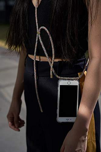 KNOK case Custodia per Cellulare Girocollo per iPhone 7//8 Plus Case Tracolla Collana iPhone//Necklace Cordoncino