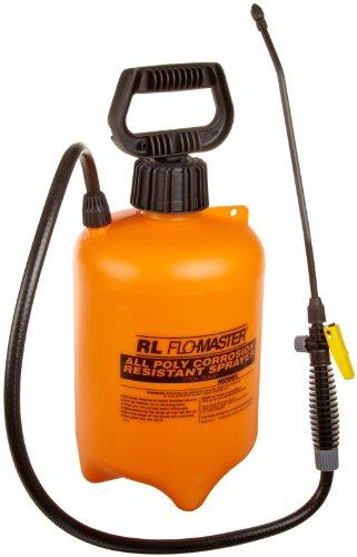 r-l-flomaster-1992a-acid-resistant-sprayer-wand-wnozzle-2gal-polyethylene-orangeblack