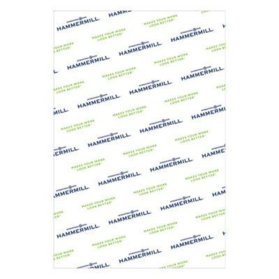 Copy Paper, 100 Brightness, 28lb, 12 x 18, Photo White, 500 Sheets/Ream, Sold as 1 Ream, 500 per Ream by Hammermill (Image #1)