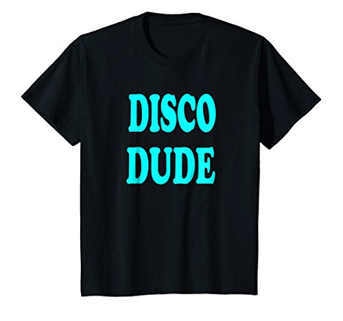 Kids Disco Dude Costume Shirt For Halloween or 70's Party 12 Black for $<!--$16.96-->